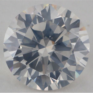 image of a cloudy SI2 clarity diamond