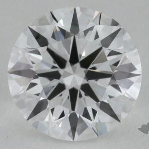 image of a diamond with no clarity issues