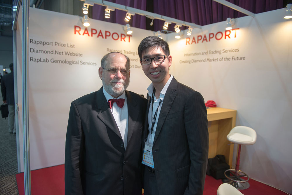 Vincent Chan with Martin Rapaport