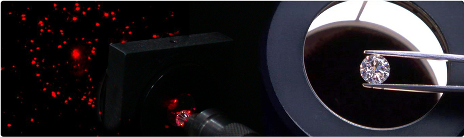 Red Laser Dispersion Pattern