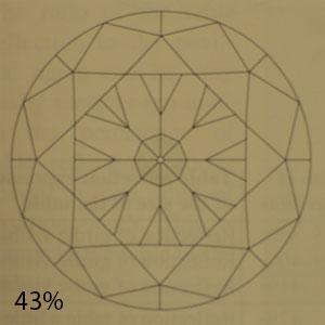 43 percent pavilion
