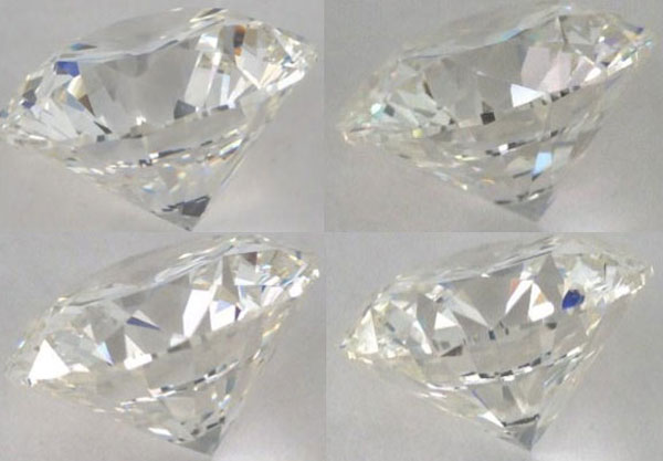 image of four HIF diamonds