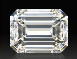 image of a emerald cut diamond