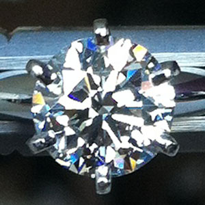 Diamond in indirect sunlight taken with iPhone