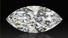 image of a marquise cut diamond
