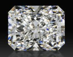 image of a radiant cut diamond